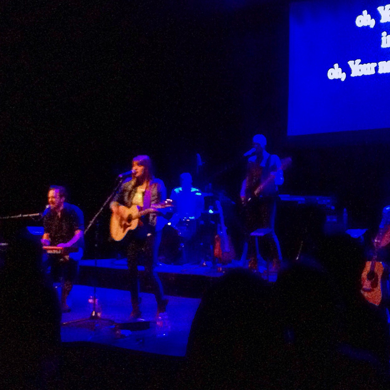 David & Leslie of All Sons & Daughters expanding our vocabulary for Worship at an Evening of Worship here in San Diego.