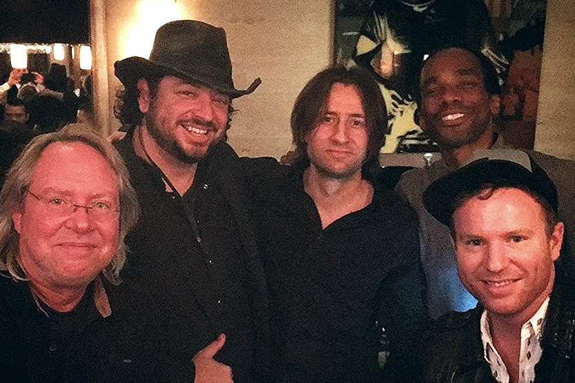 Local artists AJ DeGrasse, Julian Rodriguez, Cory Coffield connect & hang out with Nashville producer/drummer Jared Kneale