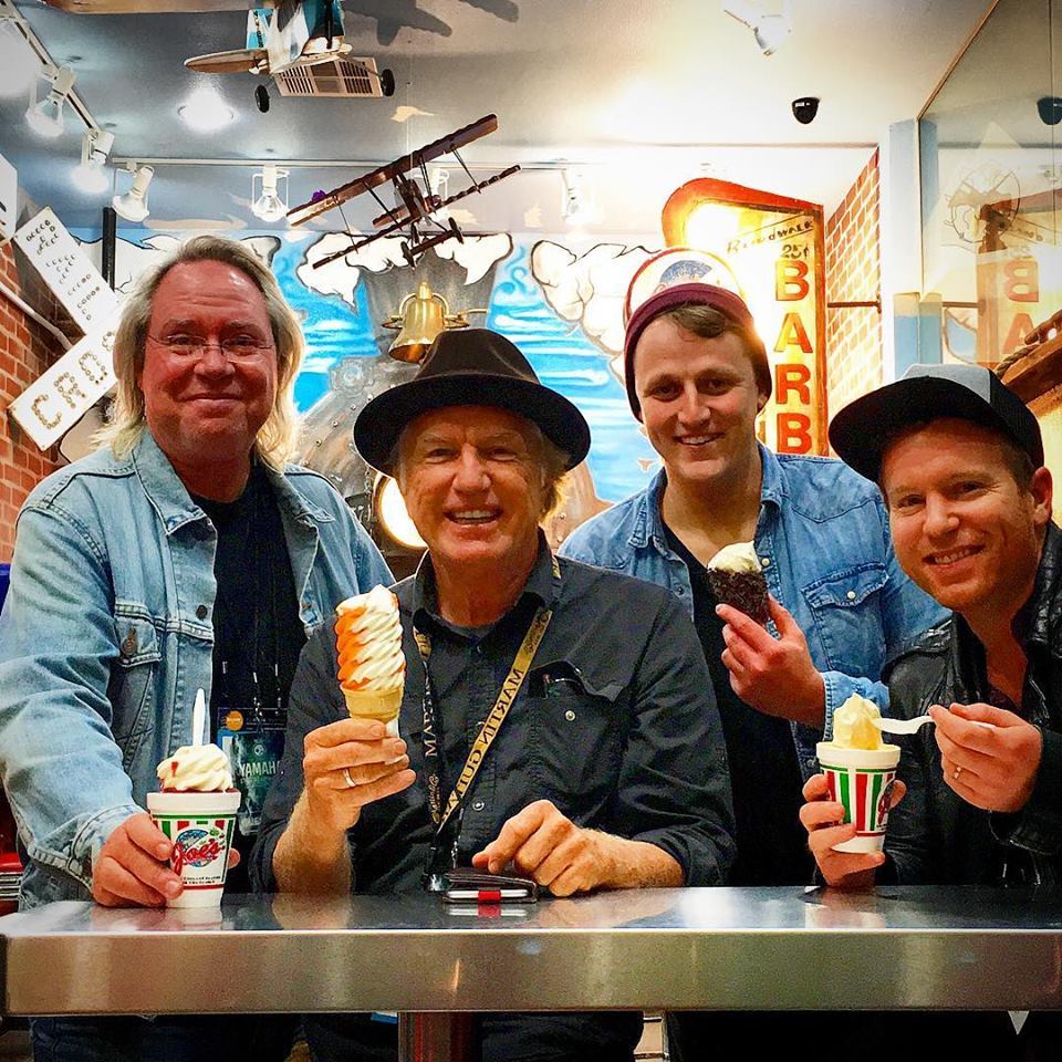The reward of  Joe's Italian Ice & Ice Cream  after a long day at the  NAMM Show . Here with Christian Music Pioneer   Paul Clark  , touring Drummer   Joe Urquhart   and Producer/Drummer   Jared Kneale   from Nashville. Each one of these men are amazing stories that bring life to so many.