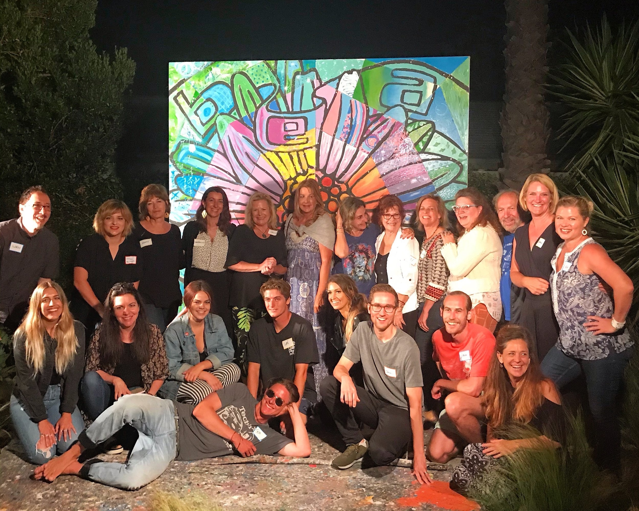 Artist Guild - Close to 50 creatives from all over Southern California came together for our Artist Guild.Our theme was