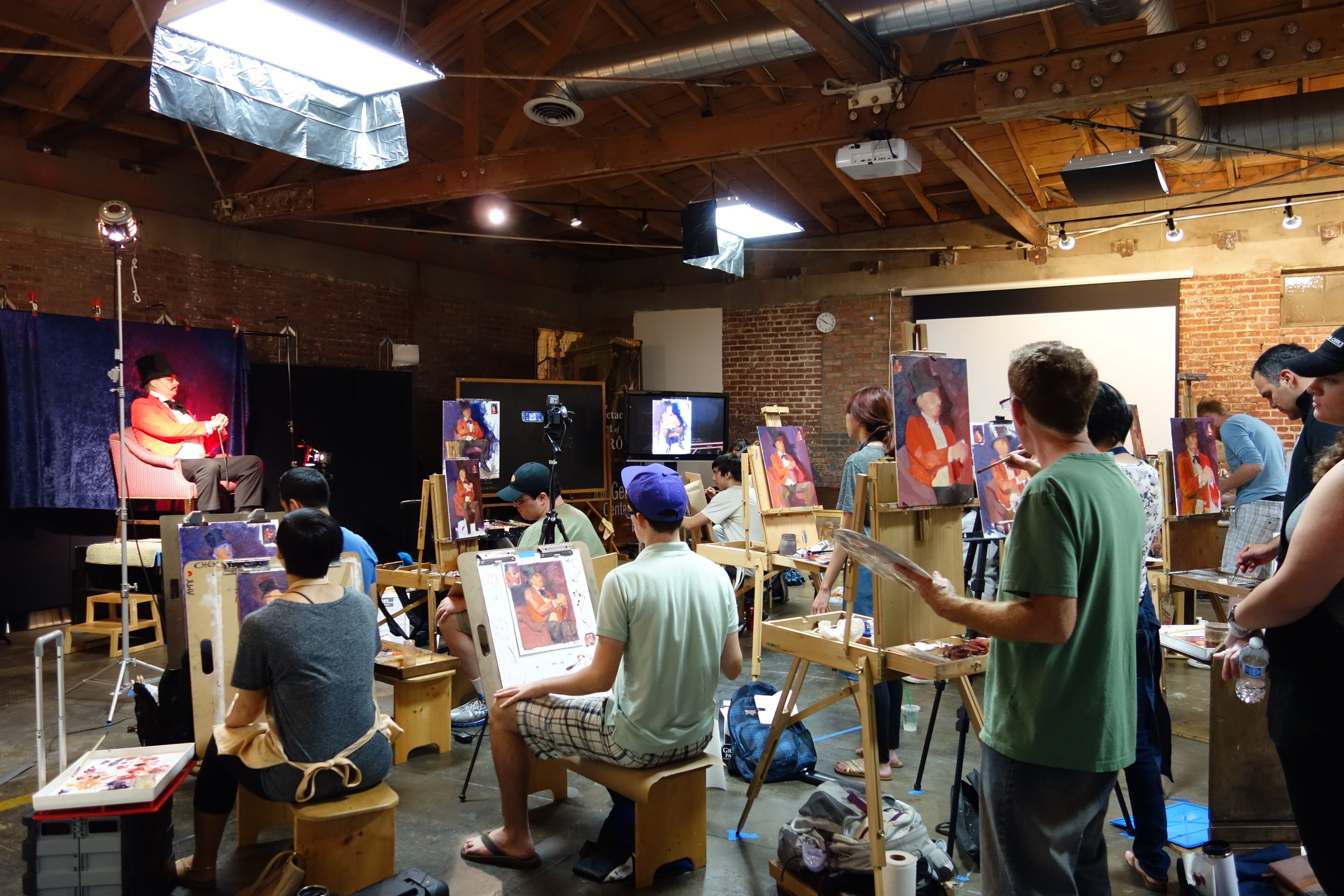 """Color & Lighting"" class with Dan Cooper"