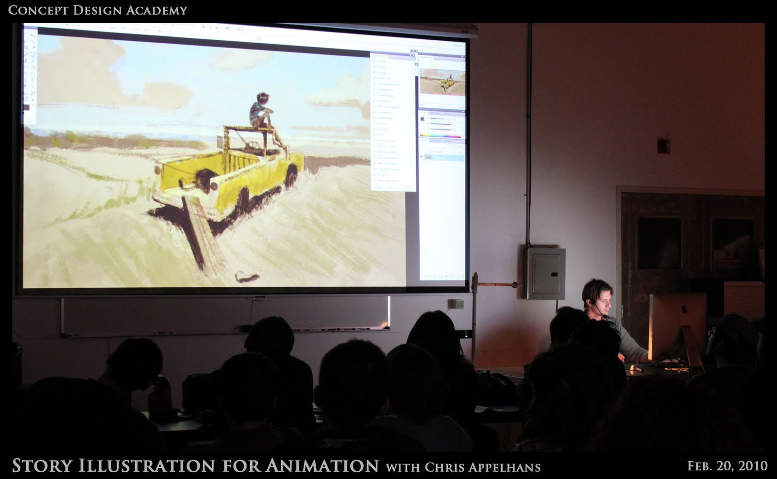 Story Illustration Workshop with Chris Appelhans