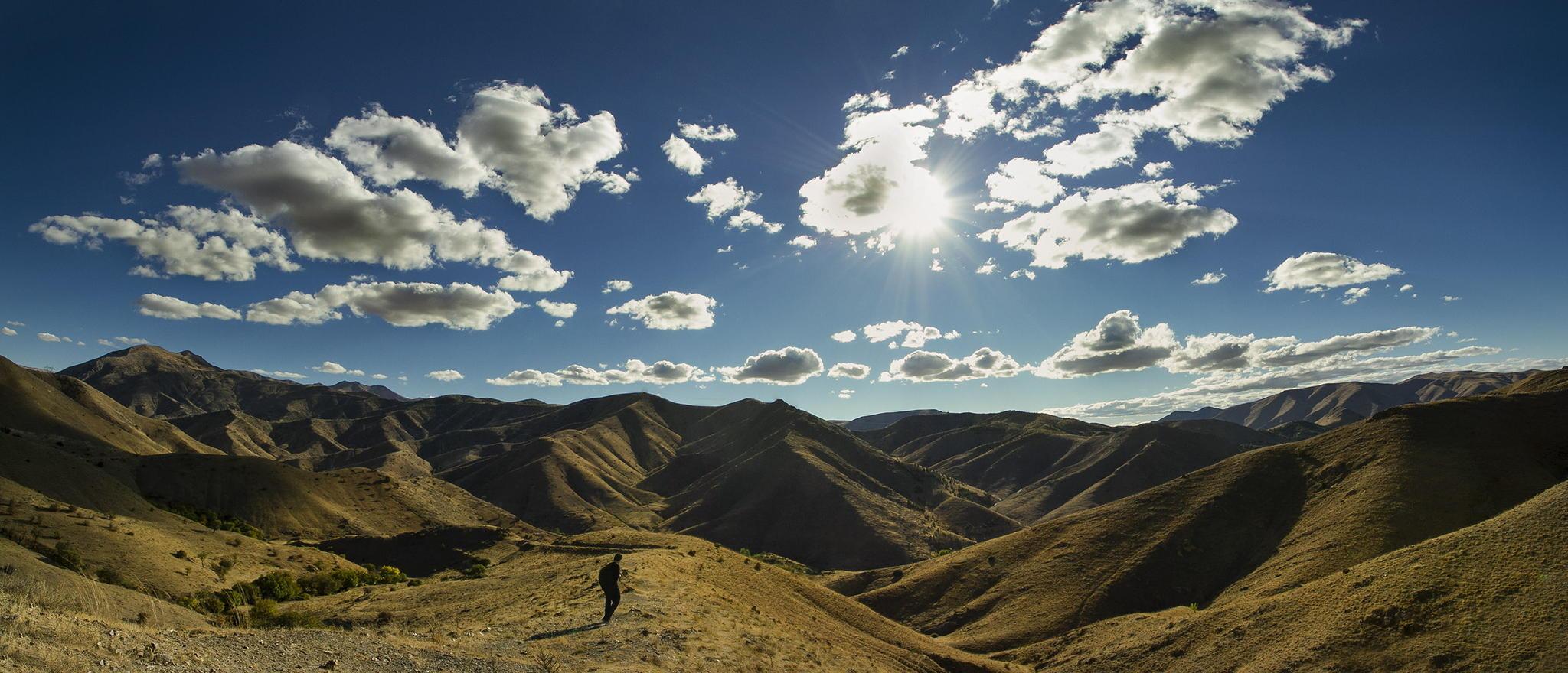 Trekking in Turkey. Photo Credit: Engin Asil