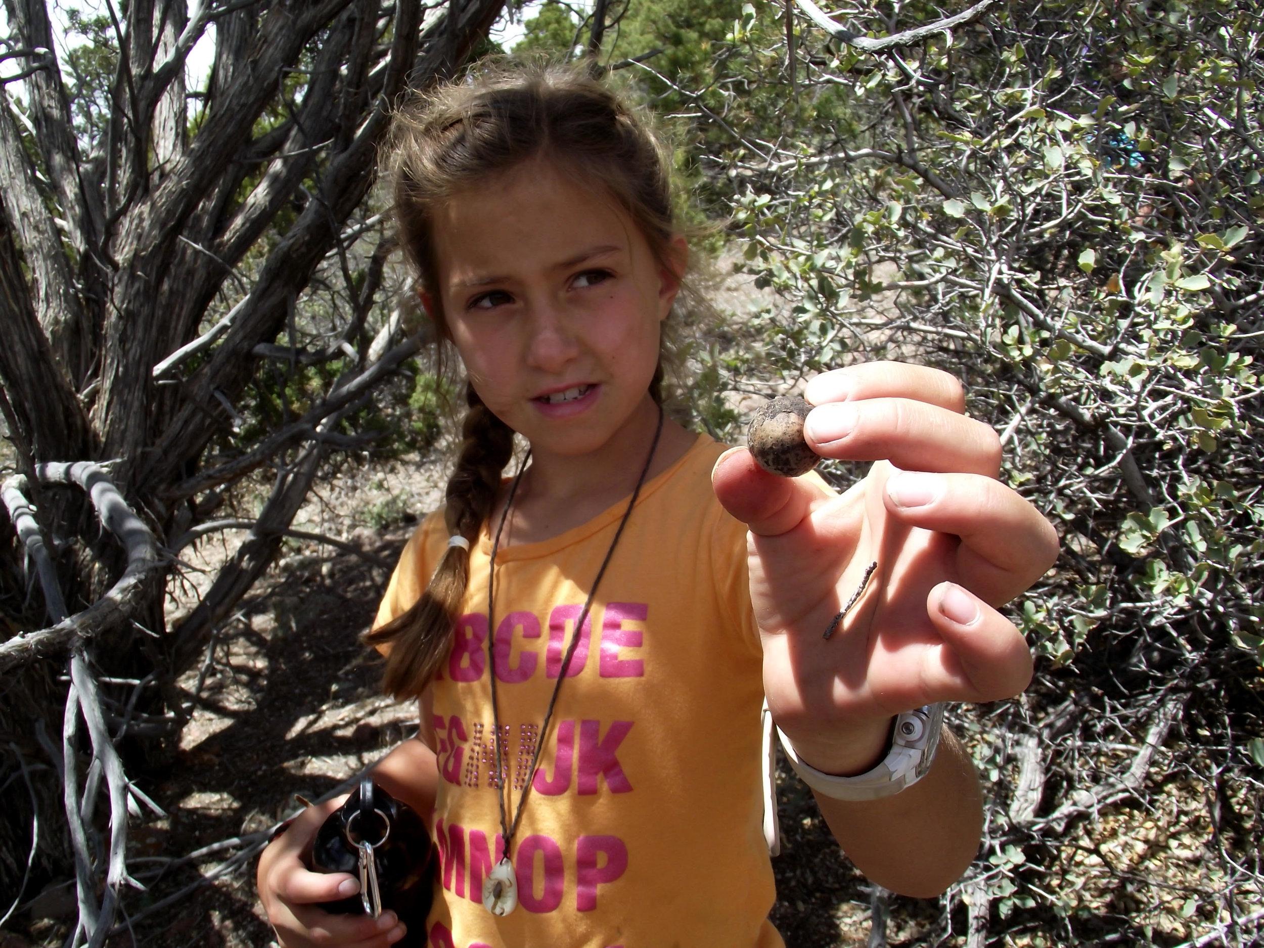 Girls Leadership Camp in the Redrock of Southern Utah