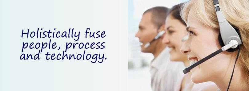 Holistically fuse people, process & technology