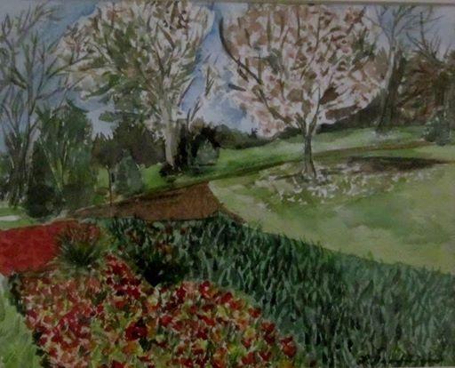 Linda Sanfillipo , artist, Freehold Art Society