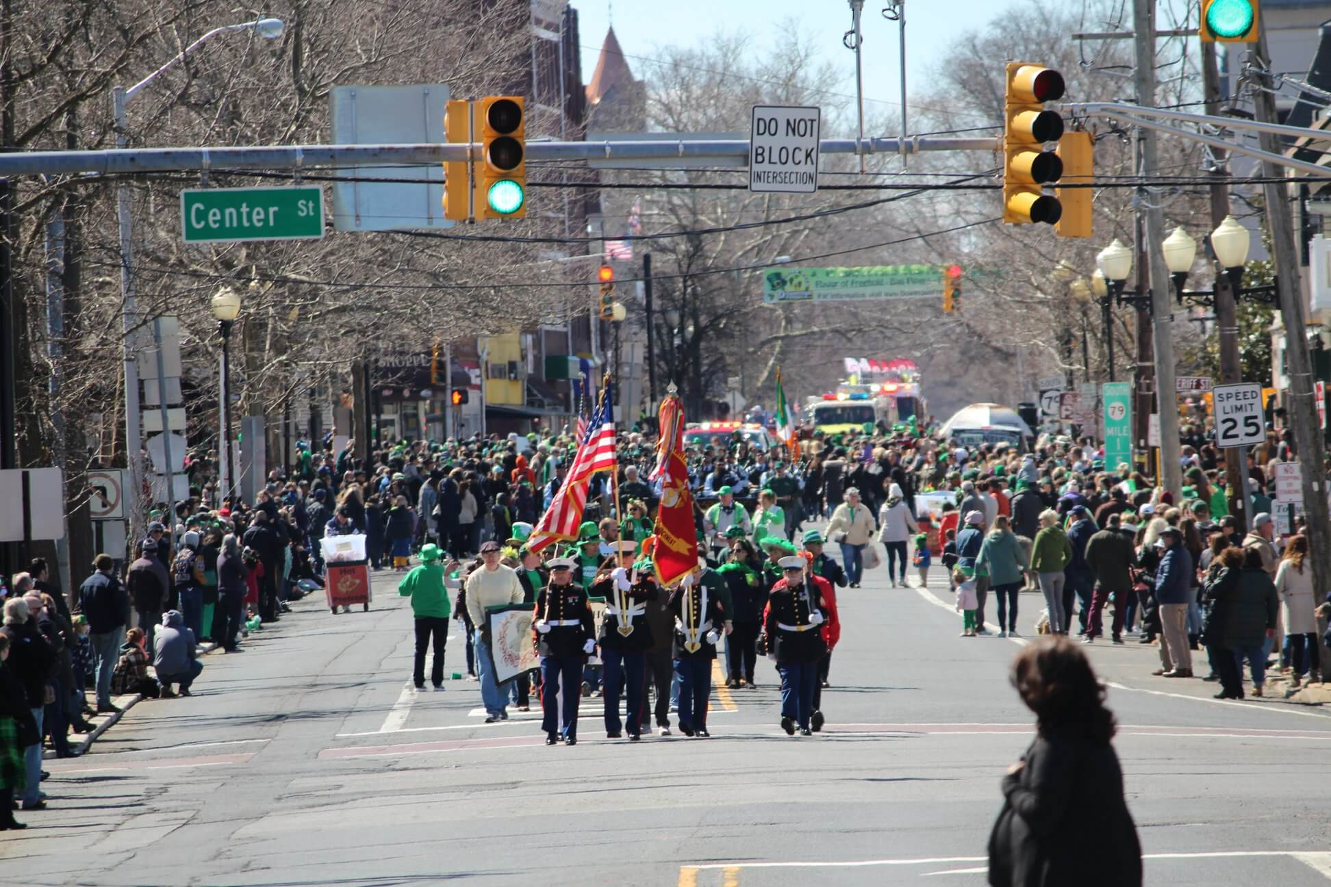 Freehold Borough Arts Council St. Patrick's Day Parade - March 15, 2020