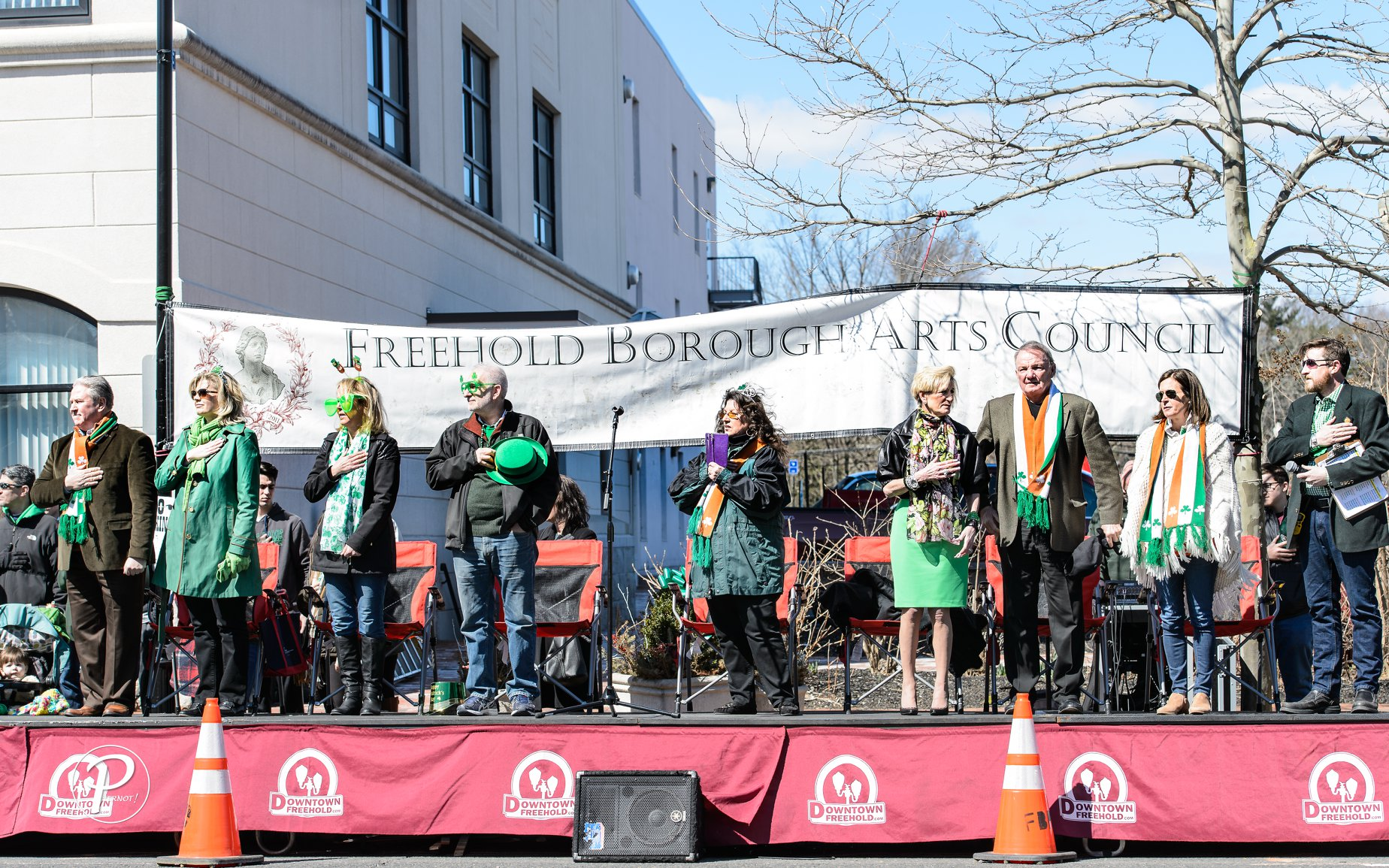 Freehold Borough Arts Council St Patricks Day Parade Grand Marchals.jpg