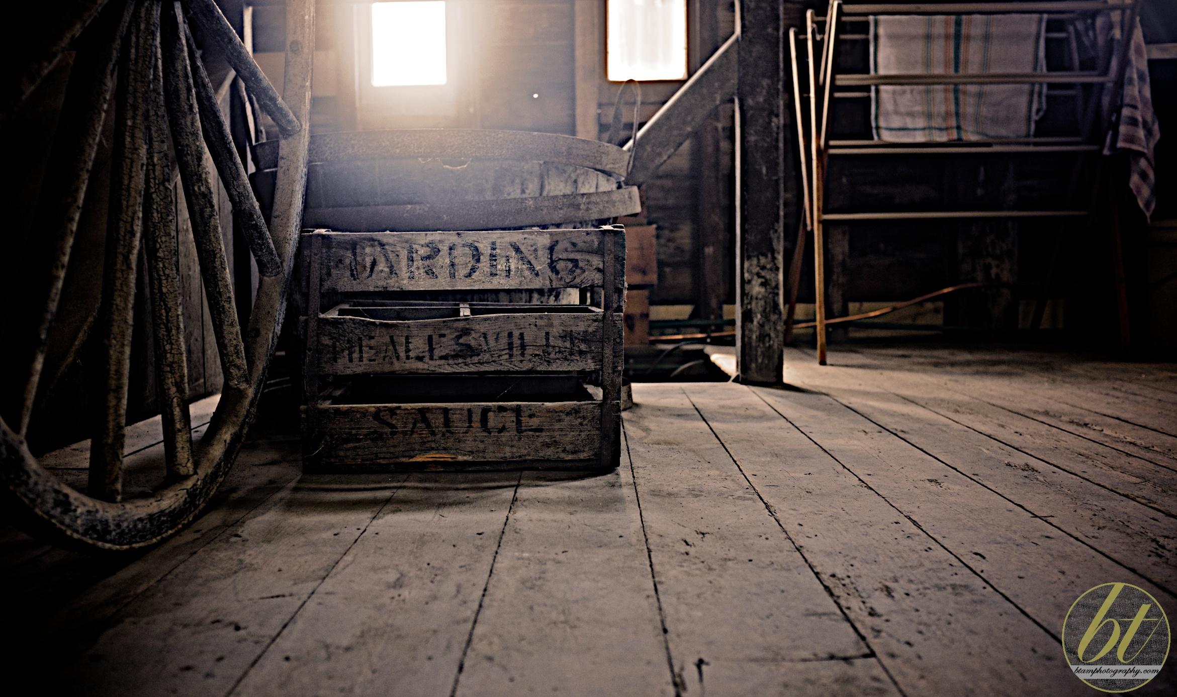 old crates @ yeringberg winery