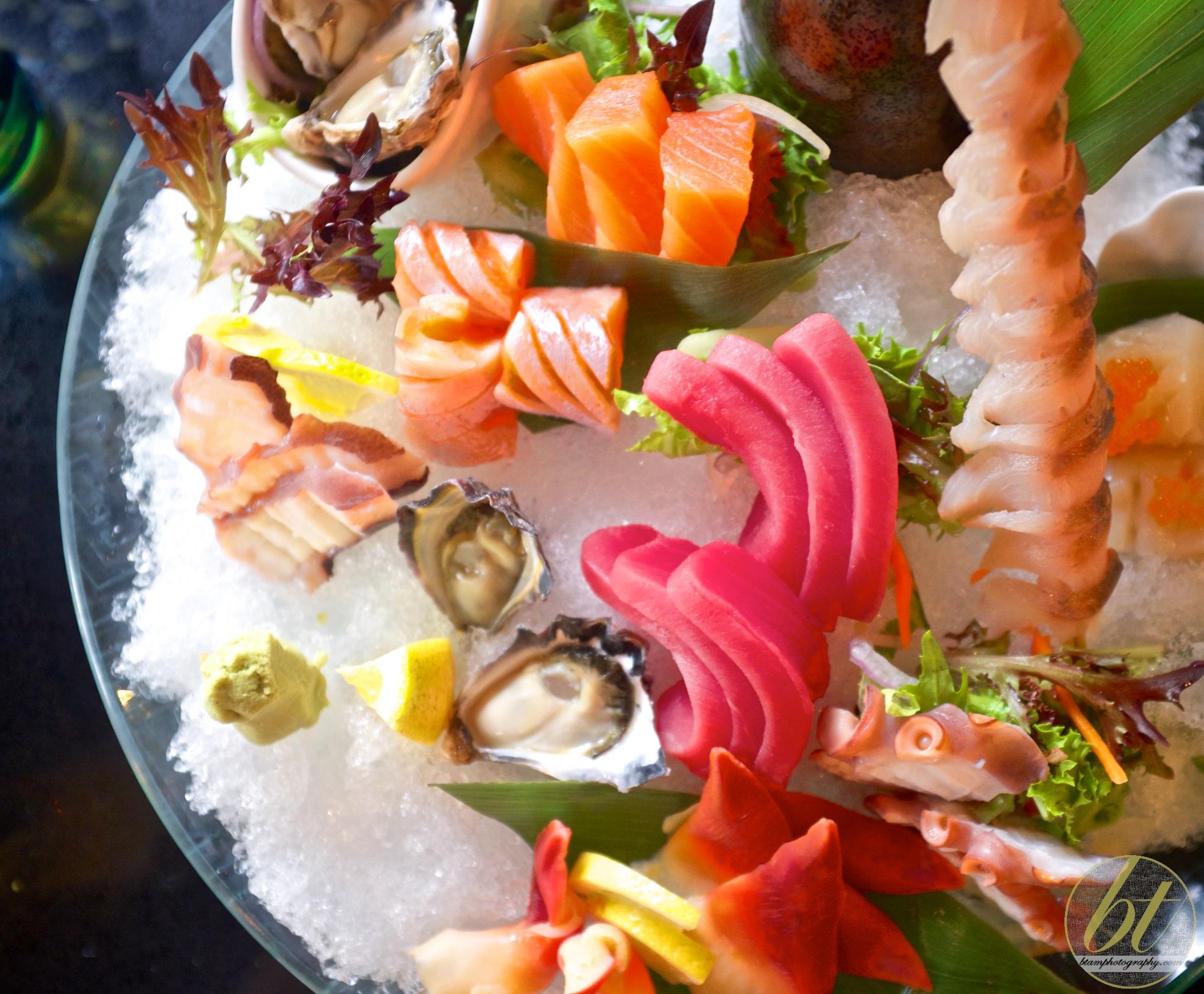 Large sashimi platter ($42.8)