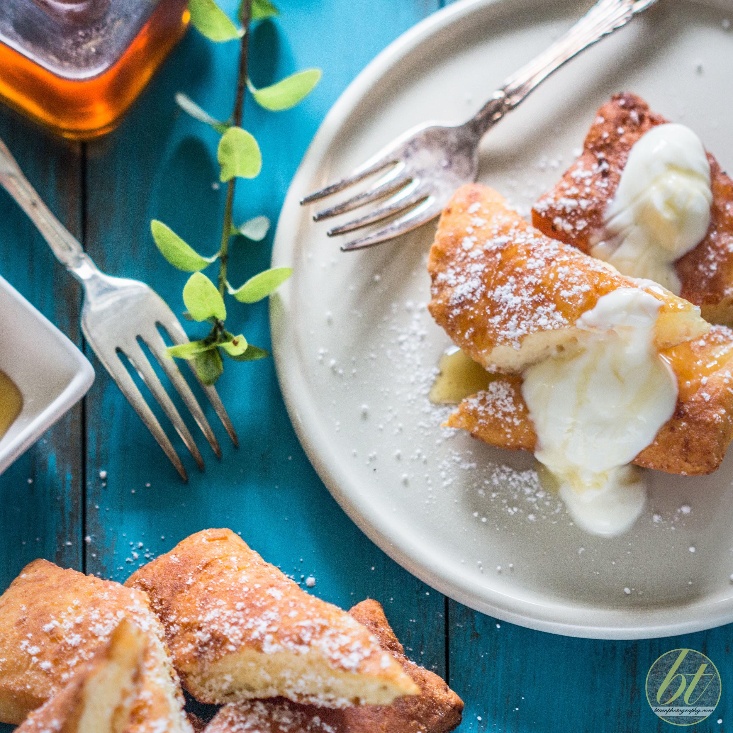 Ustipke - Bosnian fried pastry