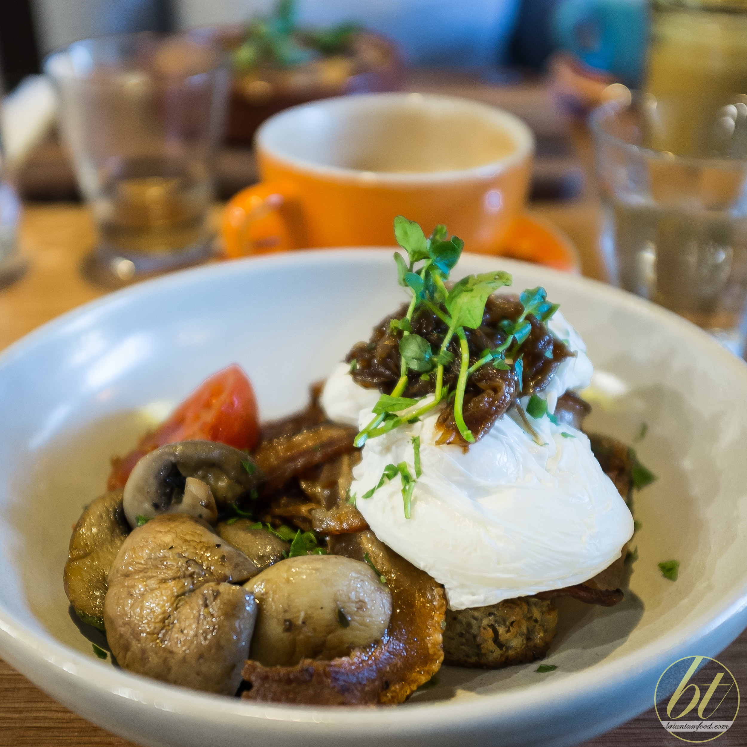 Elemental Braddon Canberra Paleo Cafe Big Breakfast