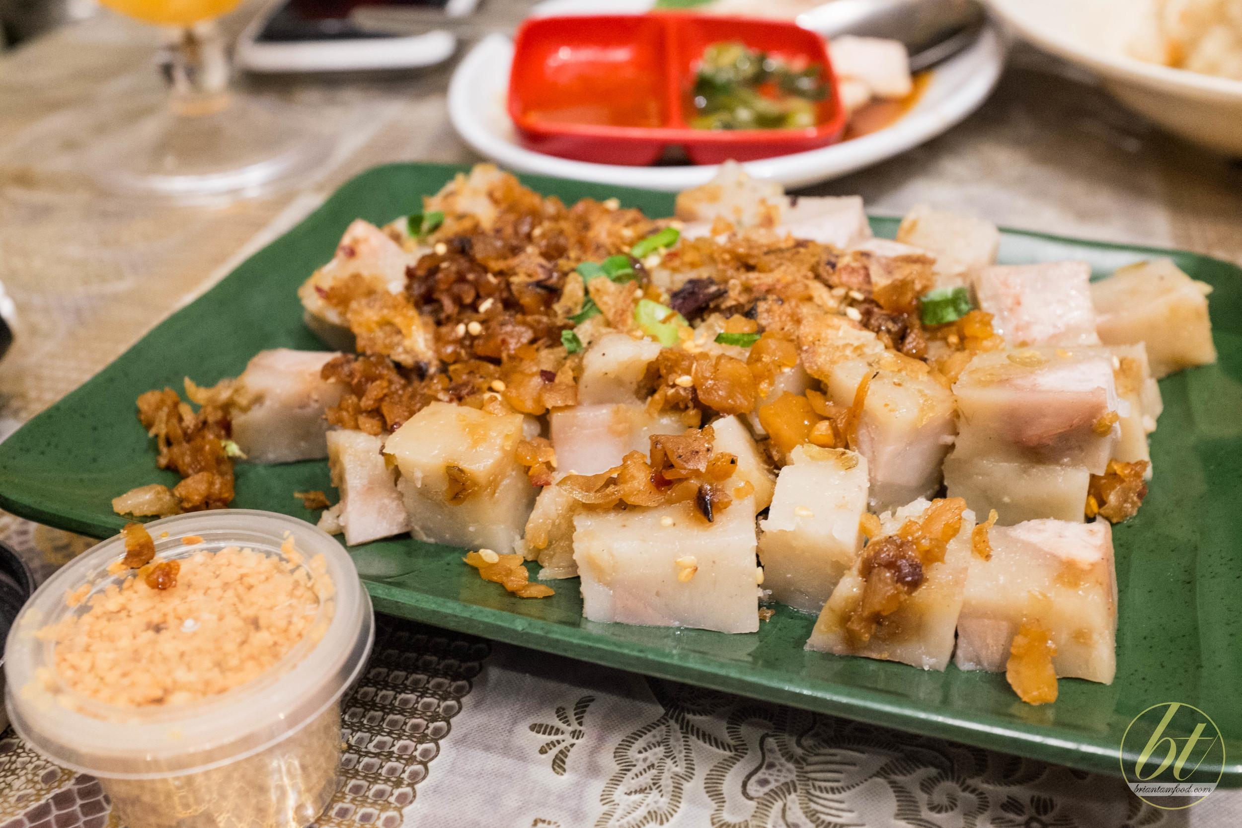 Albee's Malaysian Kitchen Campsie Taro Cake