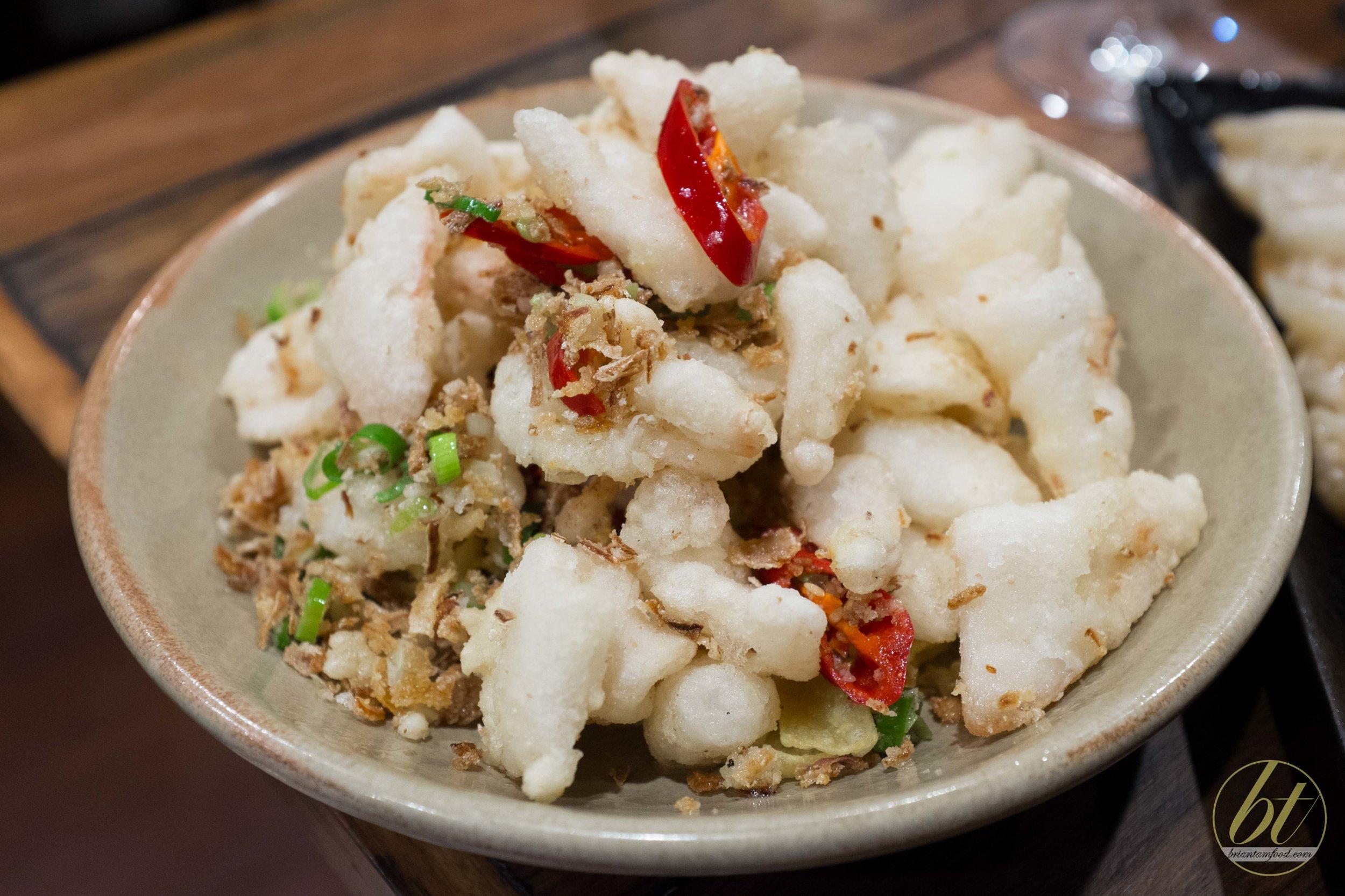 Salt and Pepper Squid ($14.00)