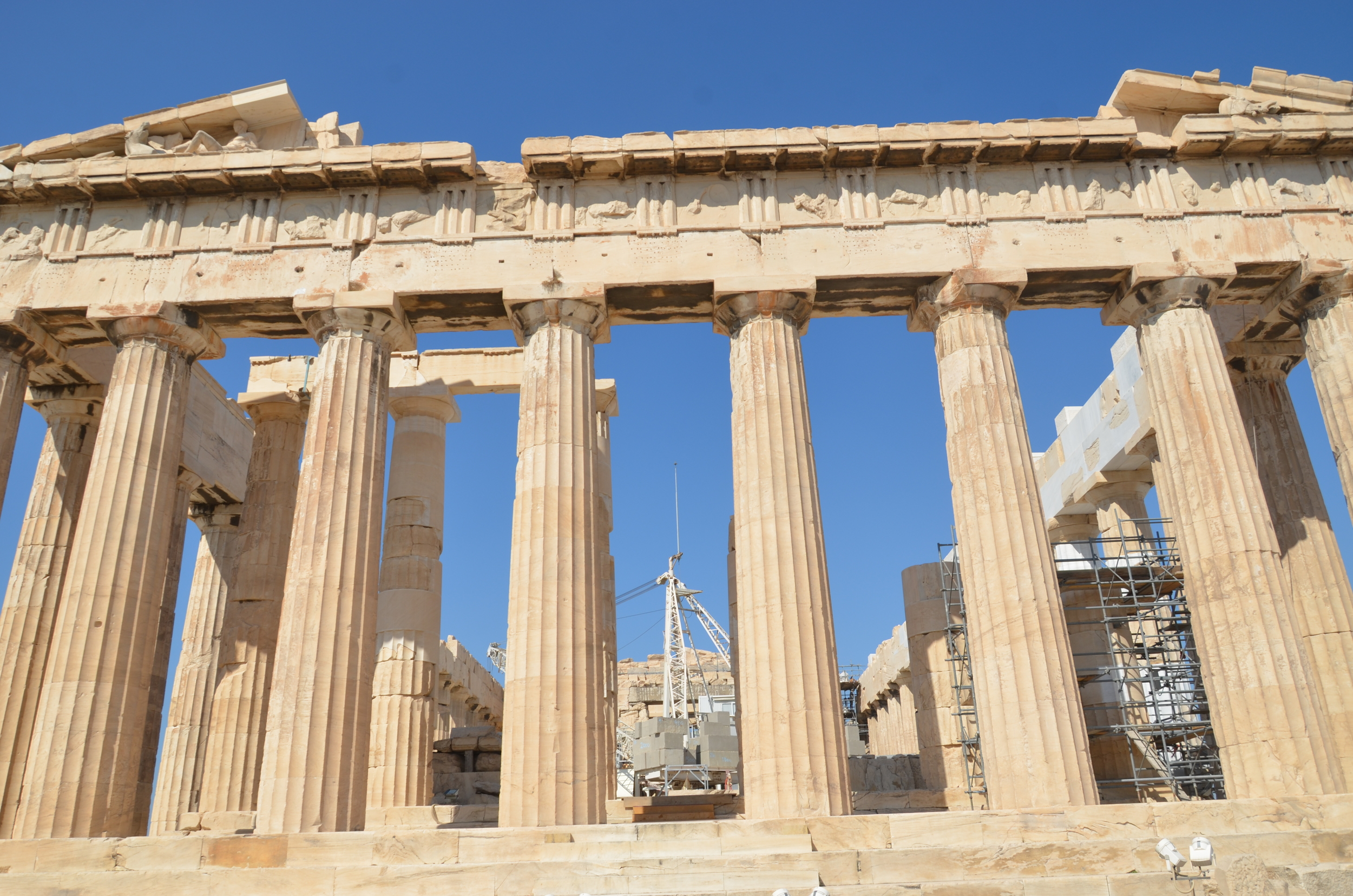 This is the Parthenon with my 18-105mm.