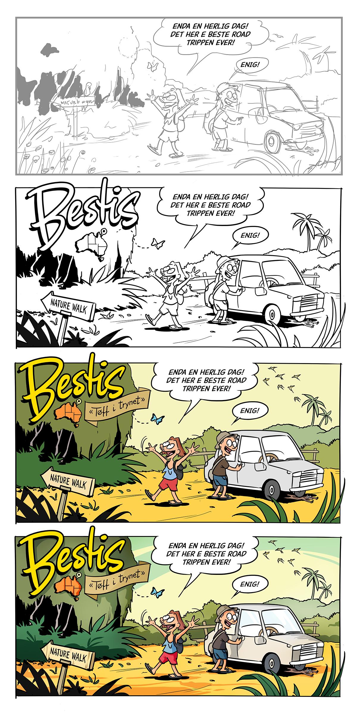 Bestis – Tøff i trynet