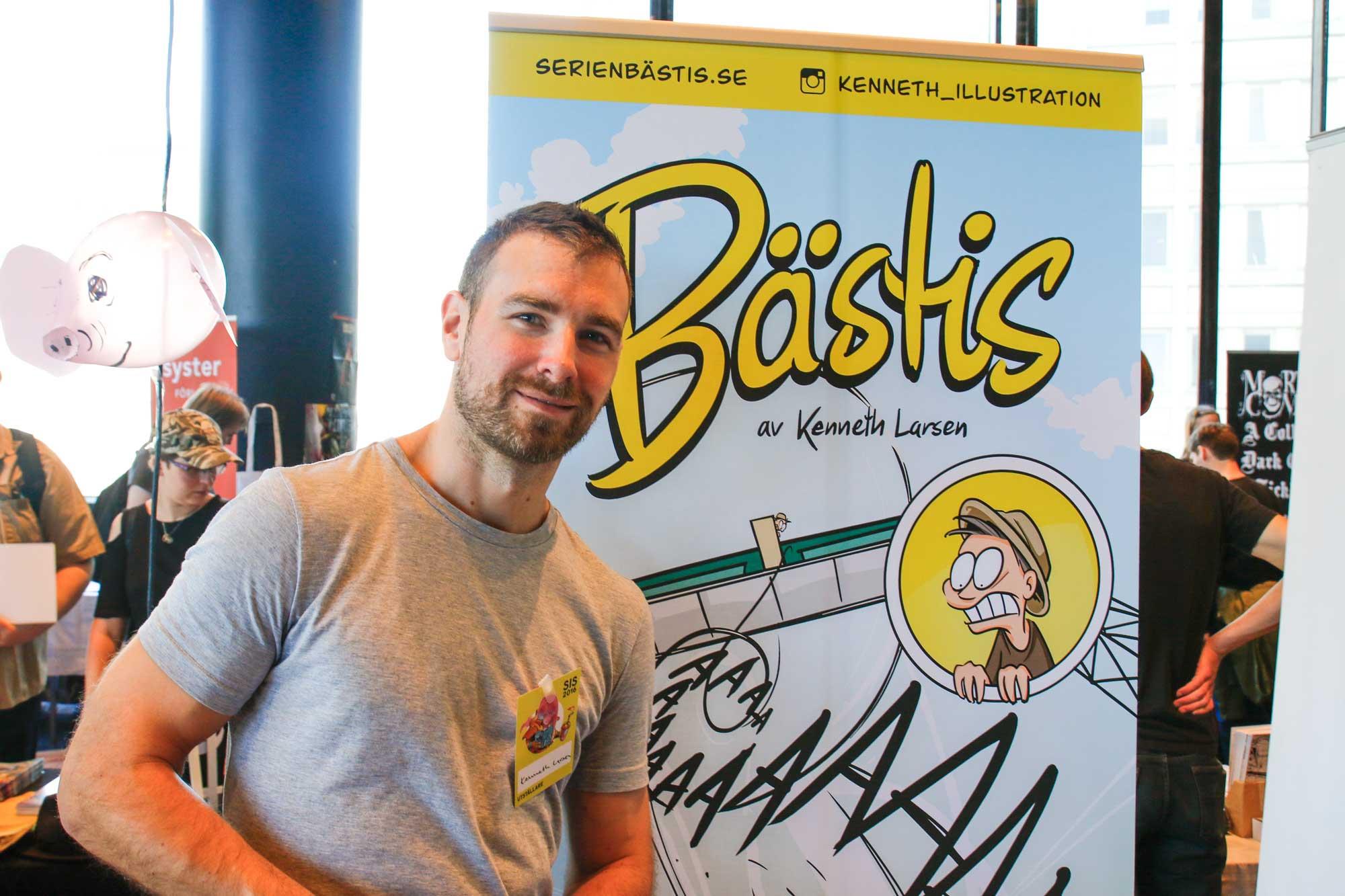Bestis, Kenneth Larsen, Stockholms Internationelle Seriefestival.