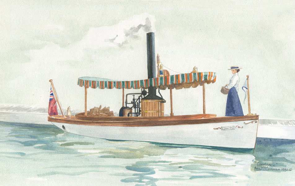 Constance the Steam Launch