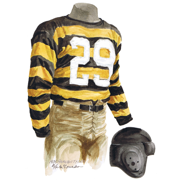 CFL Hamilton Tiger Cats 1935