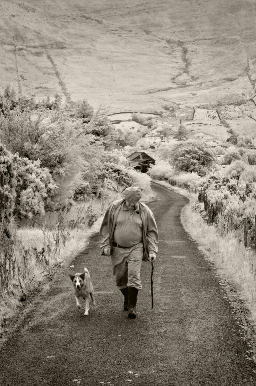 Man and Dog, Lough Na Fooey
