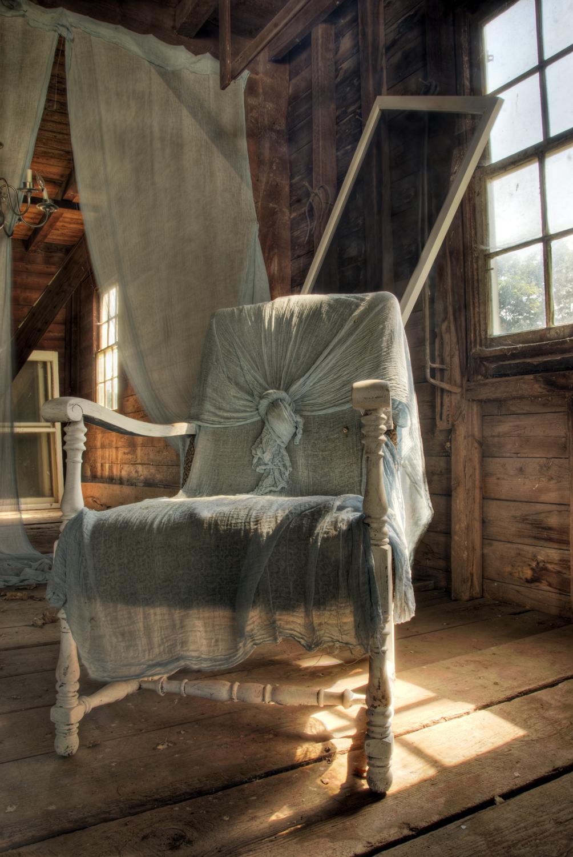 Barn, Chair, Window