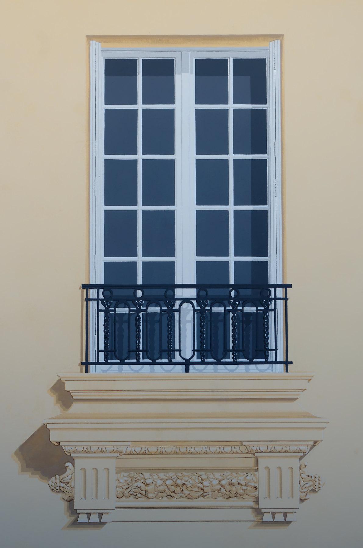 Fausse fenêtre Parc Impérial