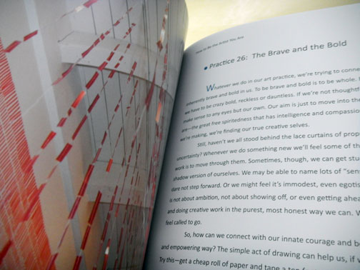Page 90, One of my installation works.