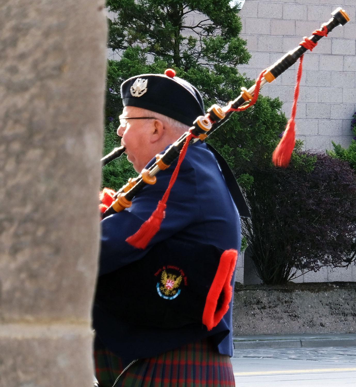 Man in Perth, Scotland, Saturday August 31, 2013. C. Mauersberger