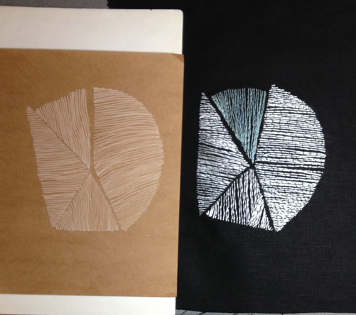 Drawn and stitched