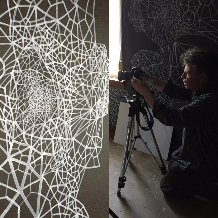 Steve Wagner, photographing my space.