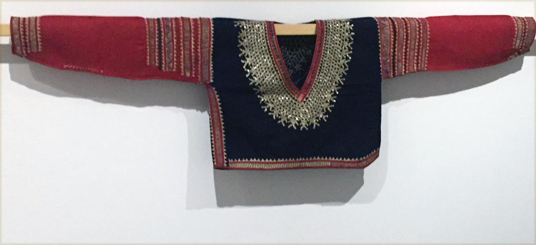 blouse from Southern Bagobo, Davao del Sur, Mindinao, Philippines, mid 20th century.