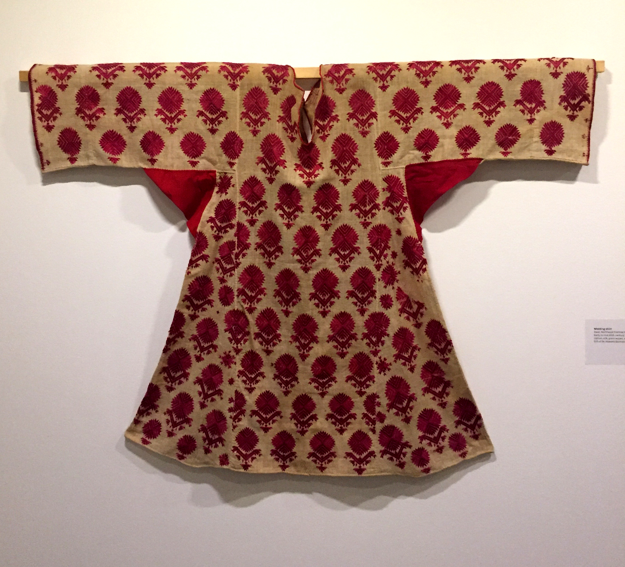 Wedding Shirt, Swat, Northwest Frontier Province, Pakistan, early to mid 20th century.