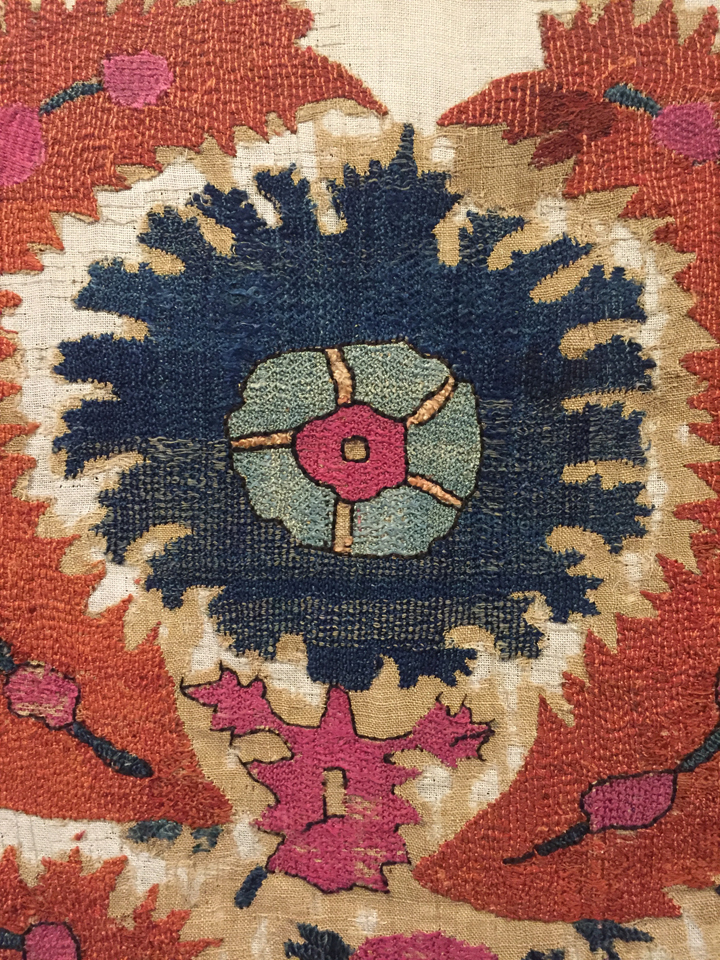 Motif on a turkish wrapping cloth
