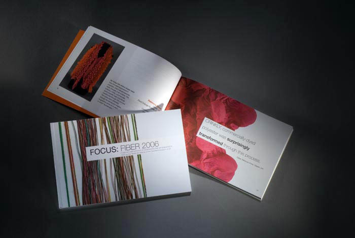 Focus: Fiber 2006. Catalog I designed.