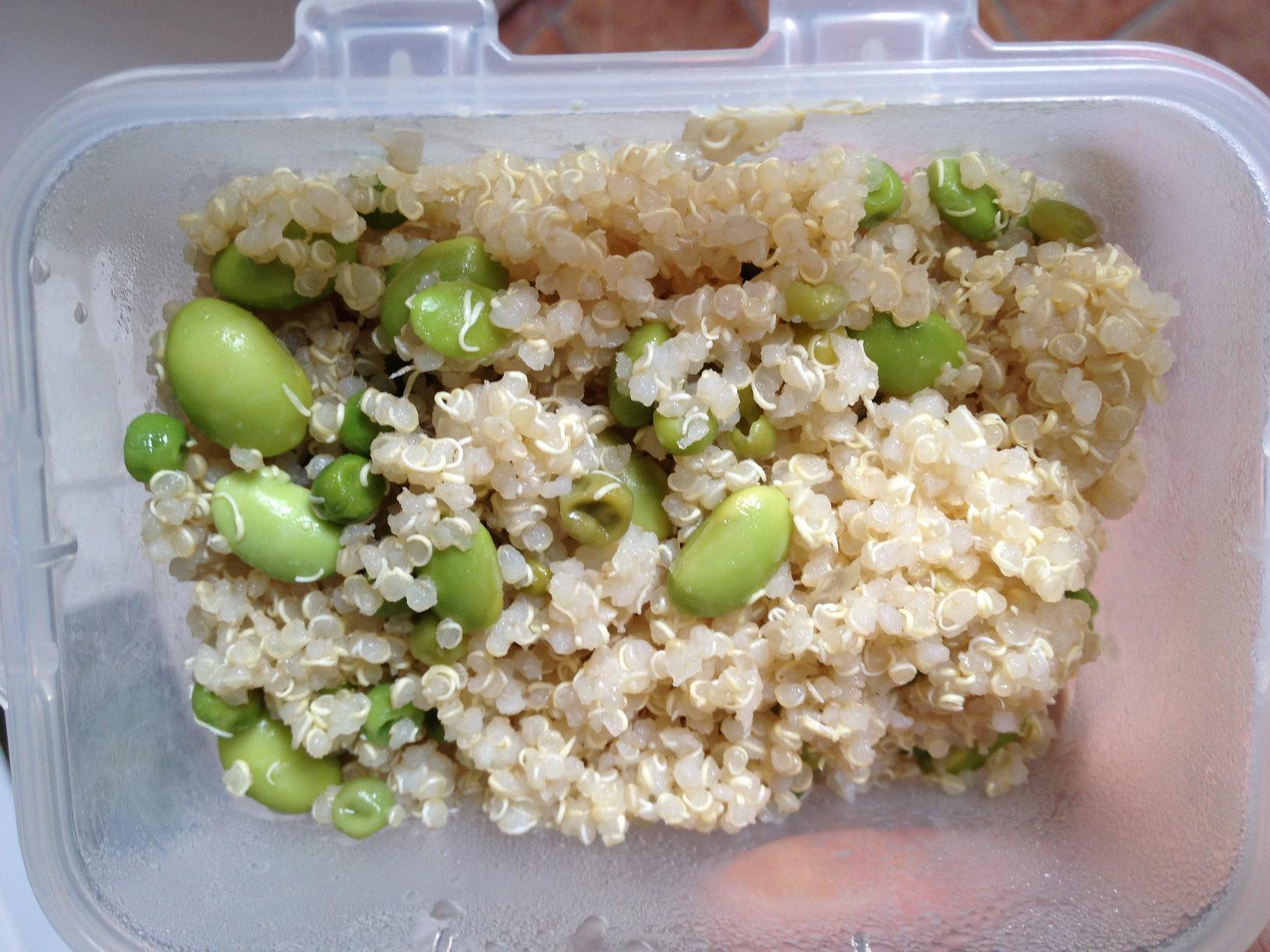 Day 2 Lunch Box - Quinoa & Edamame
