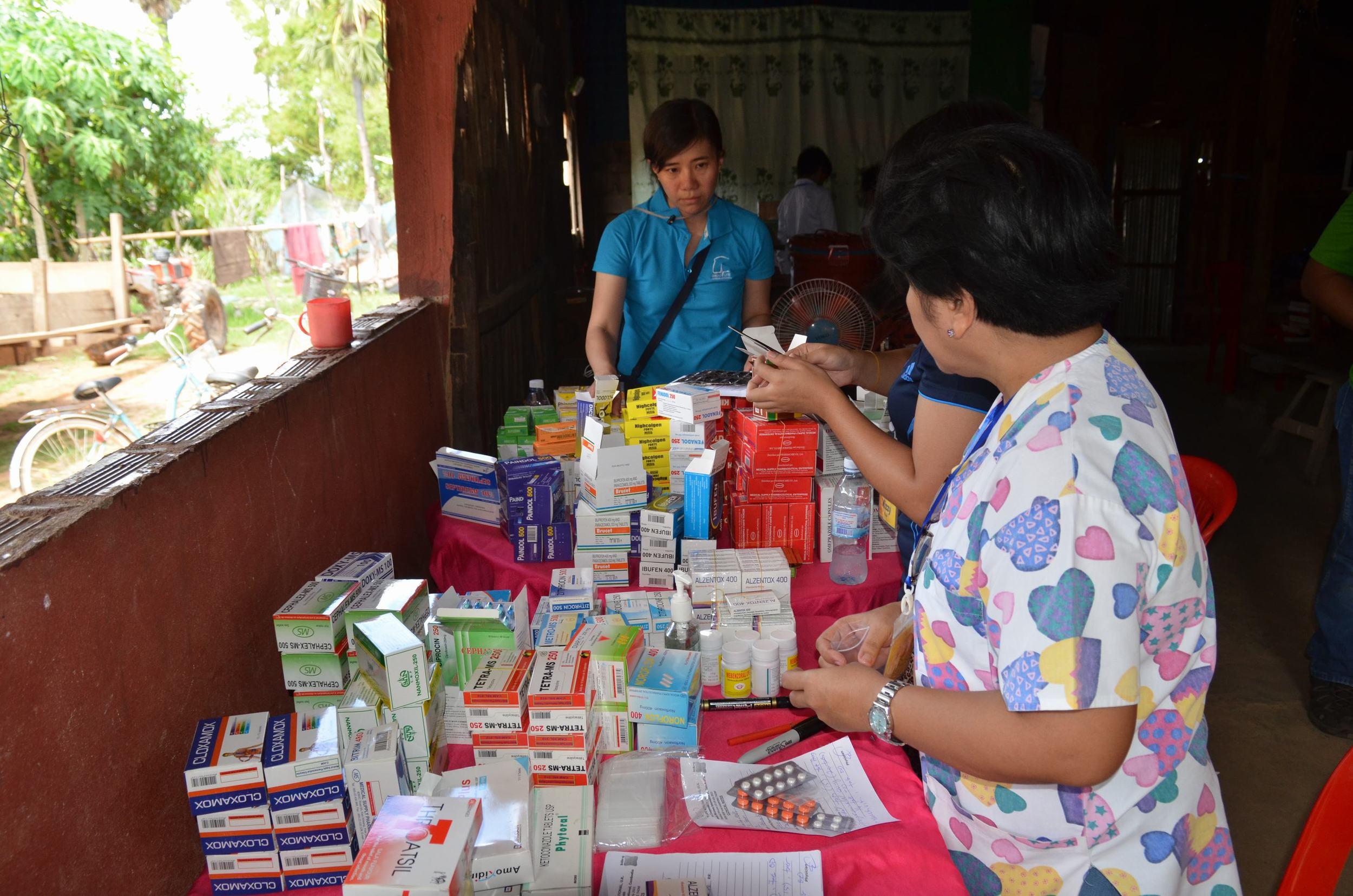 Pharmacy station