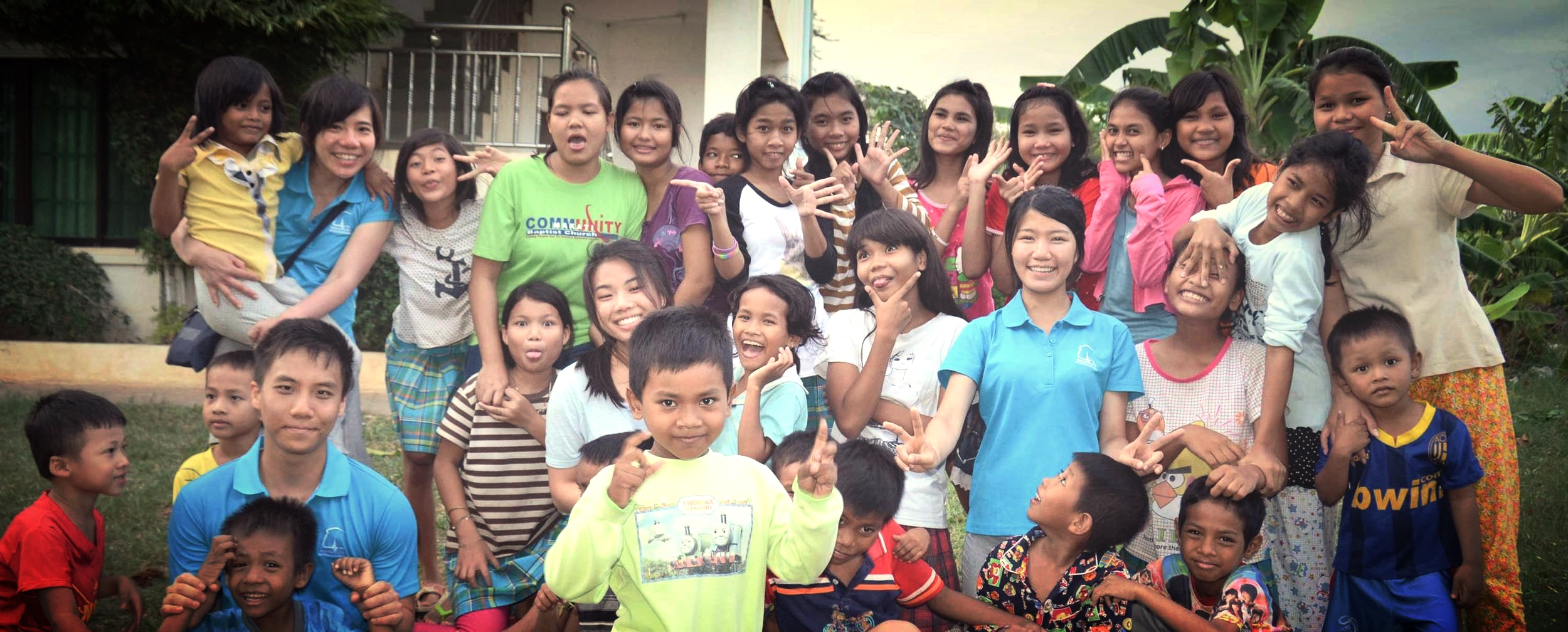 CAMBODIA 2015   with bileg solid rock orphanage      MISSION REPORT