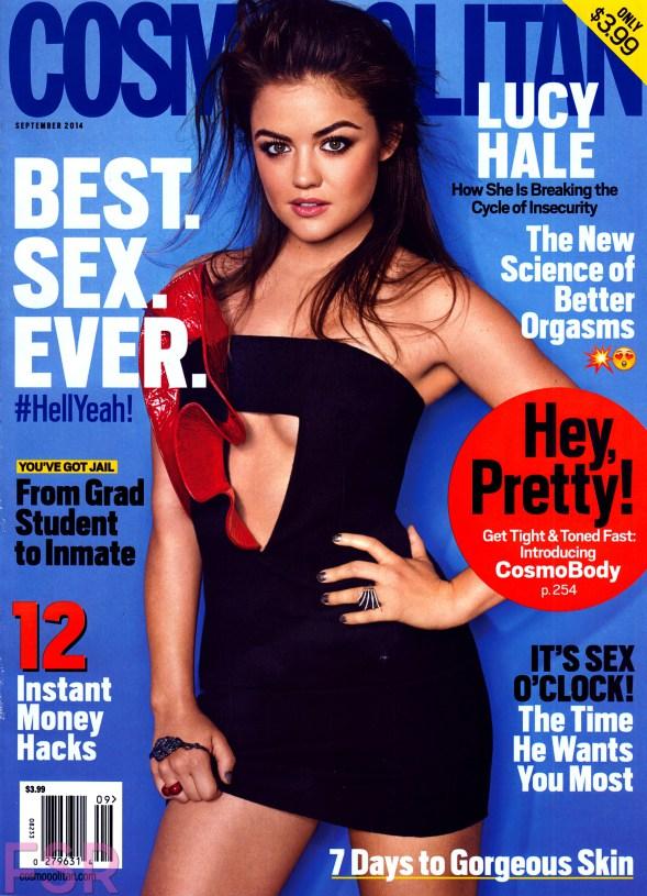 COVERGIRL Advertorial in Cosmopolitan's September 2014 issue