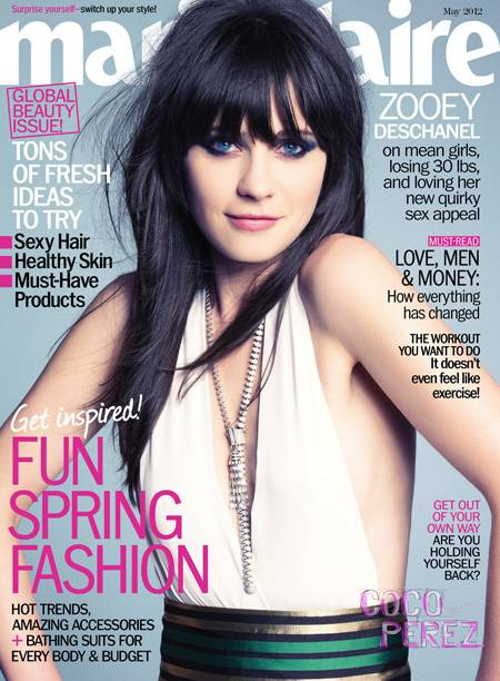 """""""What I love about Me"""" Street style snap in Marie Claire May 2012 issue"""