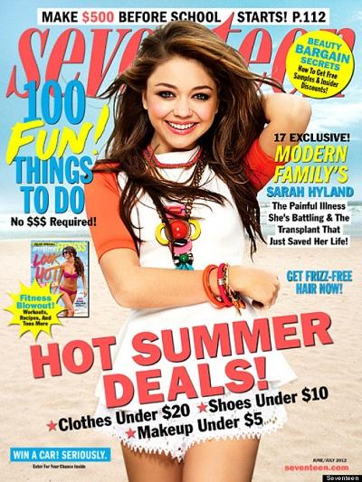 Seventeen Magazine June/July 2012