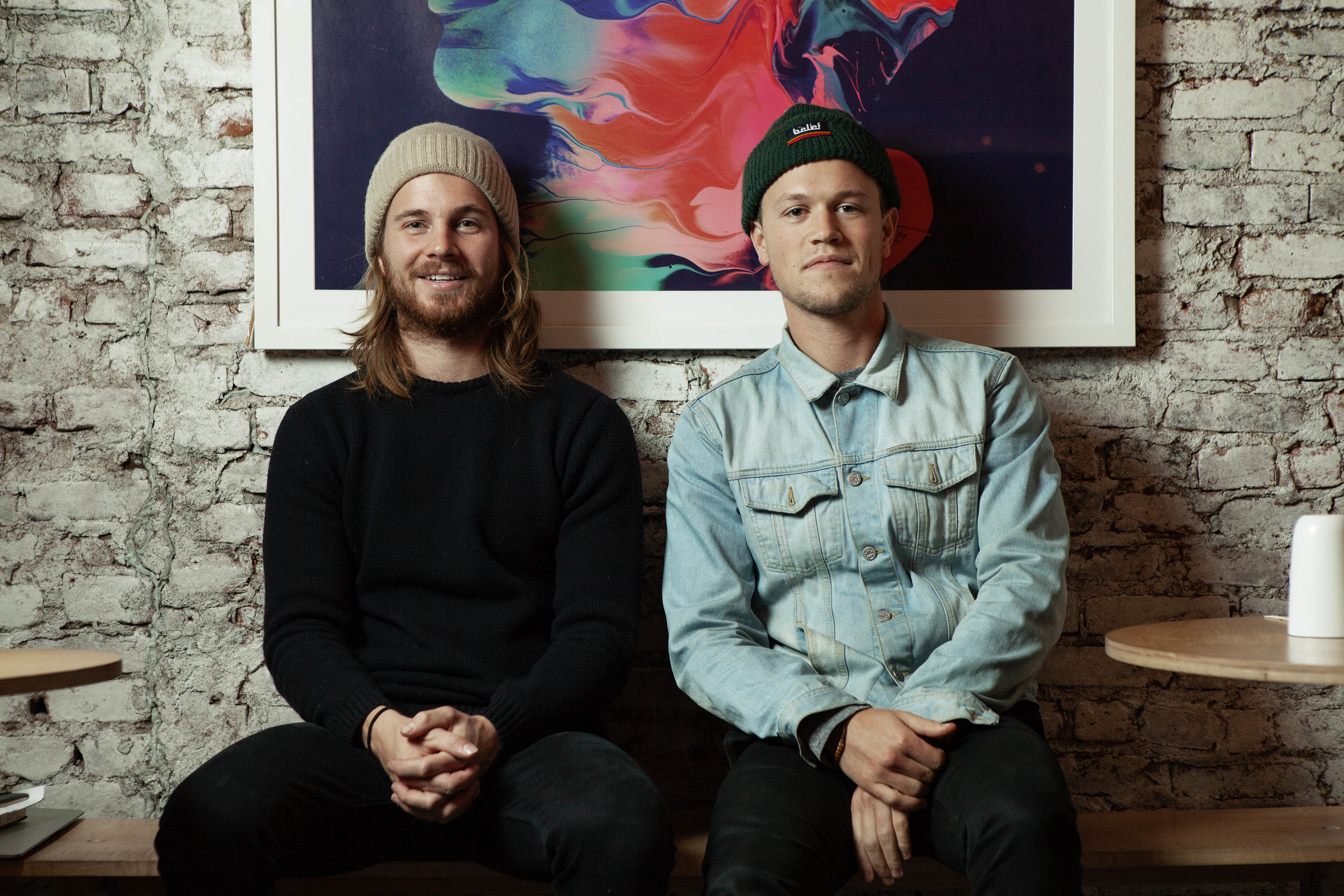 Meet Henry Roberts and Giles Russell of NYC café, Two Hands