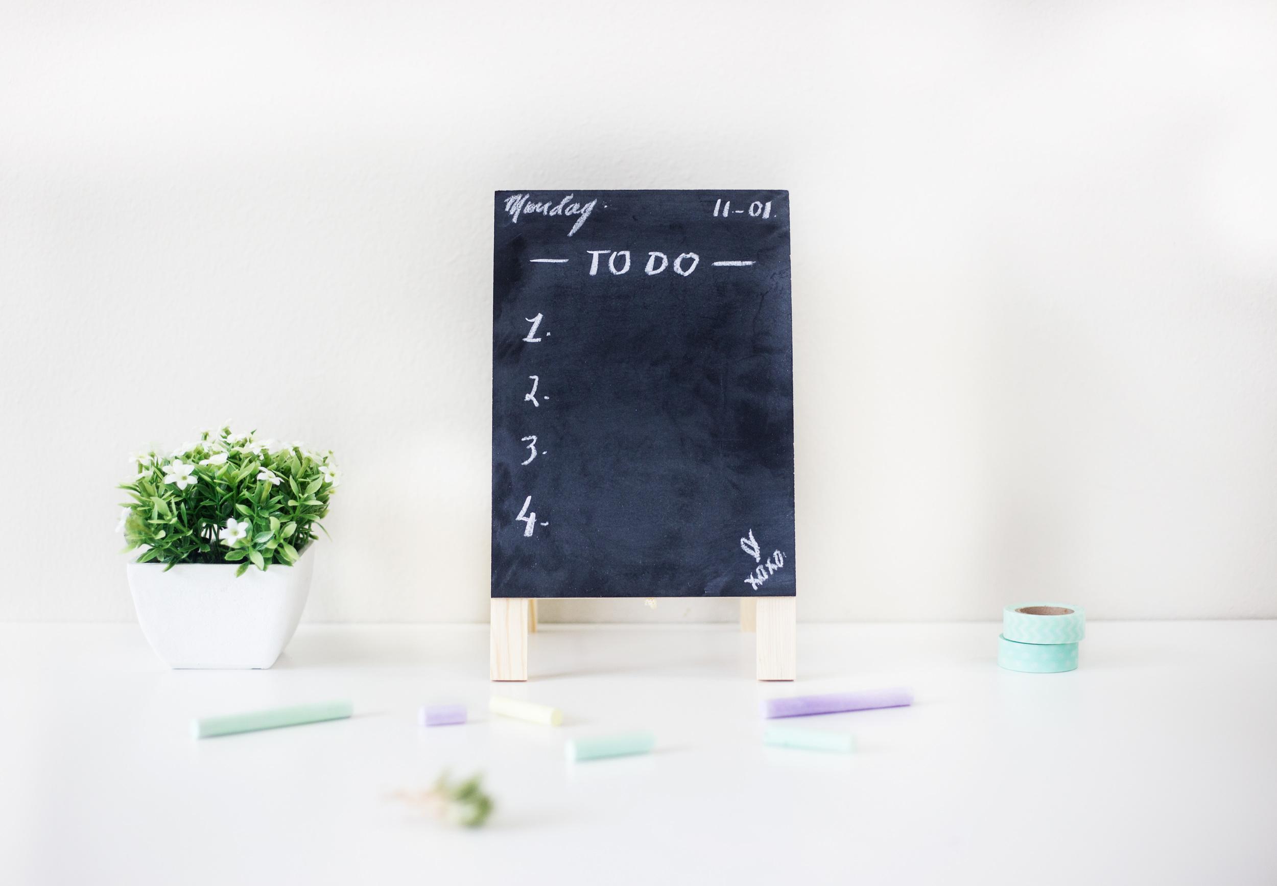 3 secrets to a productive to do list