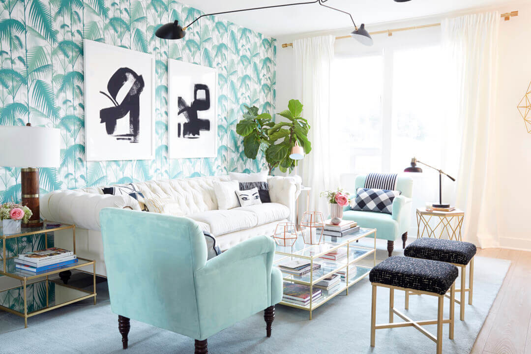 Photo via  Nicolette Mason's Home Makeover on Style by Emily