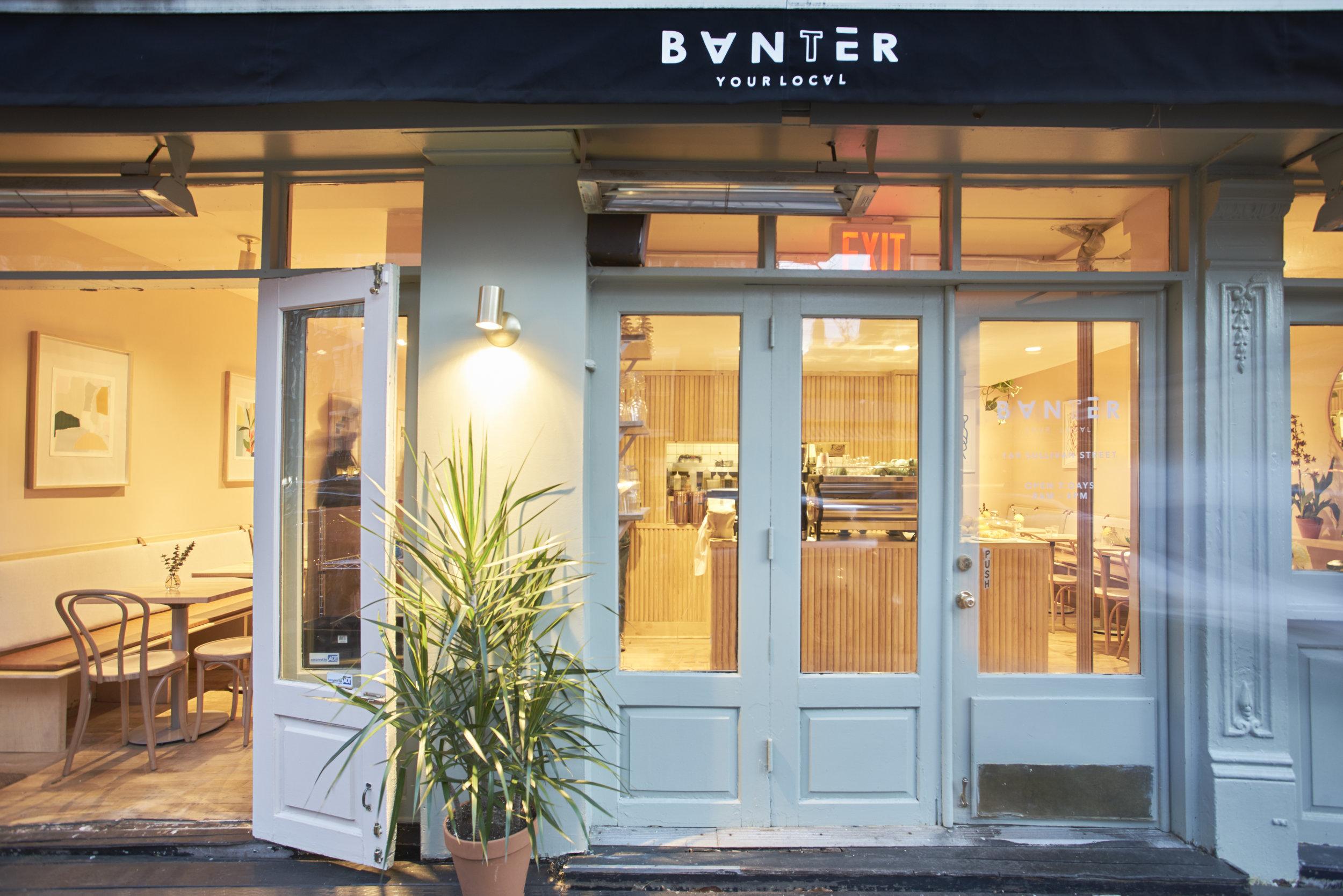 BANTER Coffee Shop in Greenwich Village