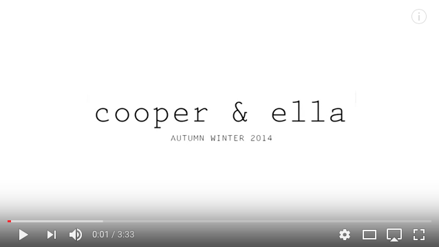 COOPER & ELLA – FALL PHOTOSHOOT PRODUCTION, CASTING, STYLING