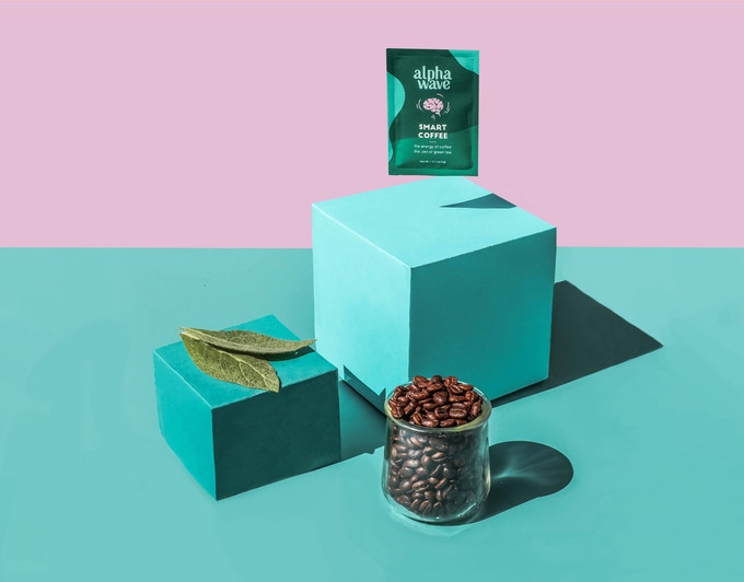 Alpha Wave Coffee launches their Kickstarter campaign on April 30, 2019