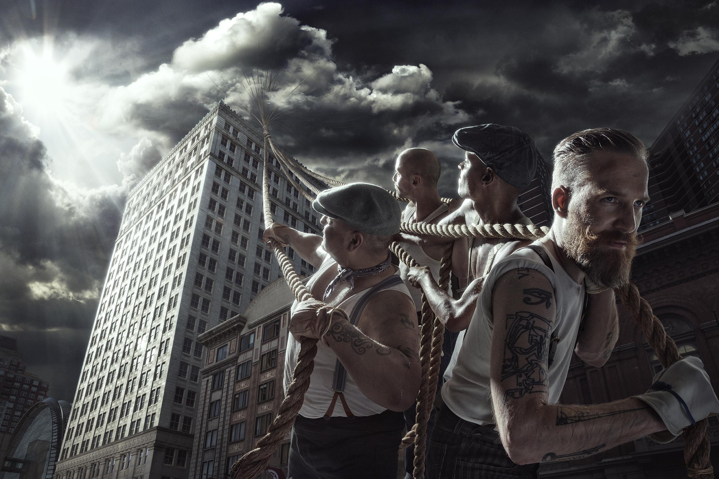 Photographer: Tony Notarberardino  ReToucher: Jim Lind  The Atlantic Project - Creative Soldier LLC