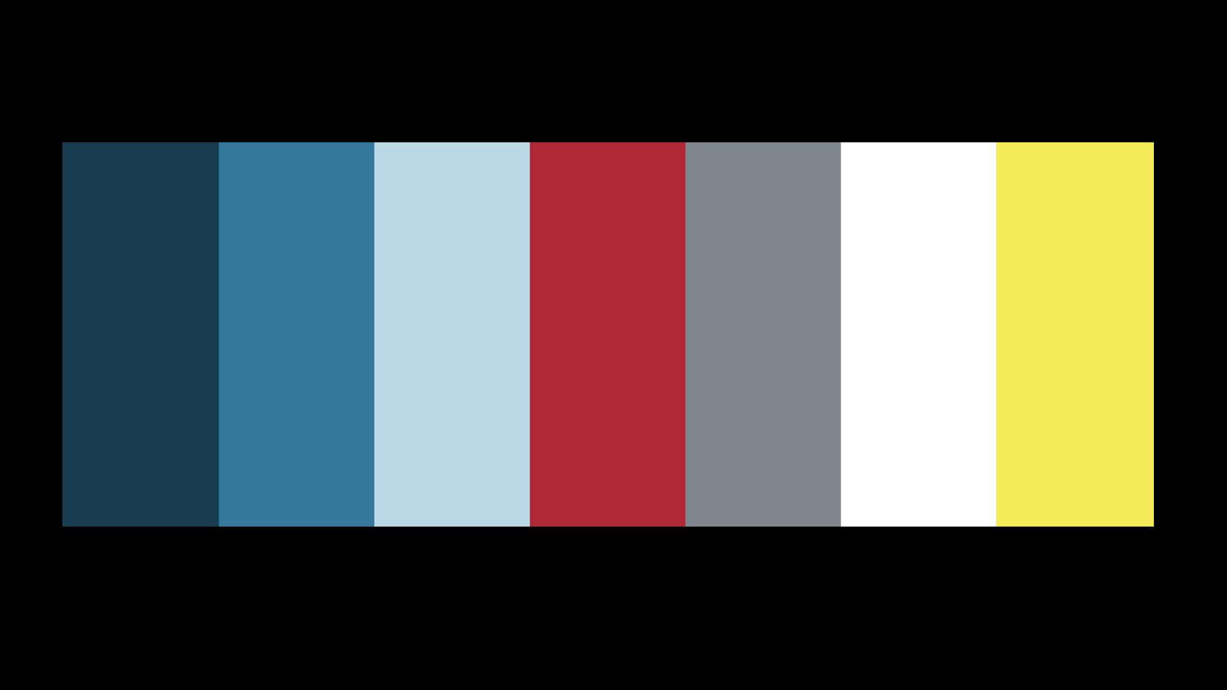 JAWS Color Palette