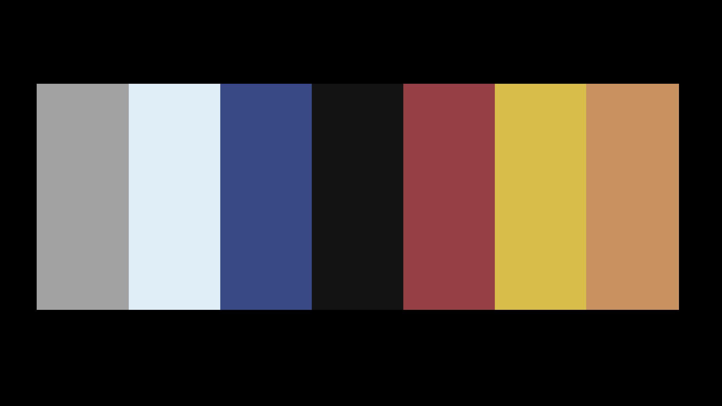 Batman TAS Color Palette