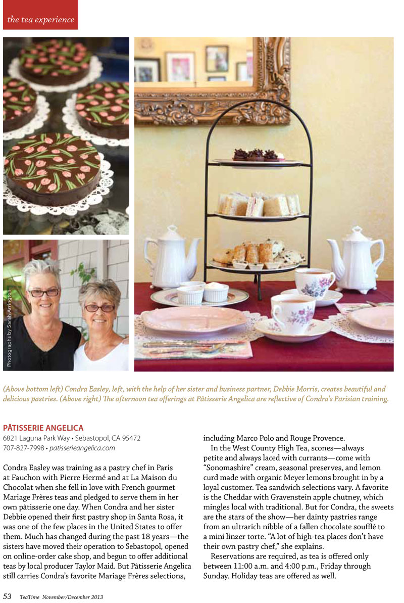 Tea Time Article